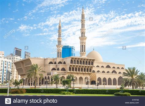 Faisal Mosque Hd Images by King Faisal Mosque In Sharjah Uae Stock Photo 280060595