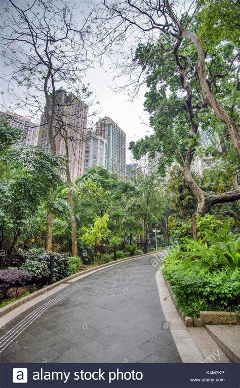 Hong Kong Park Fountain Stockfotos & Hong Kong Park
