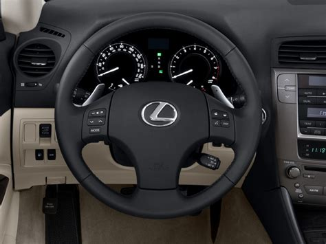lexus steering wheel image 2010 lexus is 250c 2 door convertible auto steering