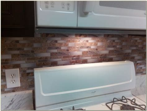 Glass Peel And Stick Backsplash Tiles   Tiles : Home