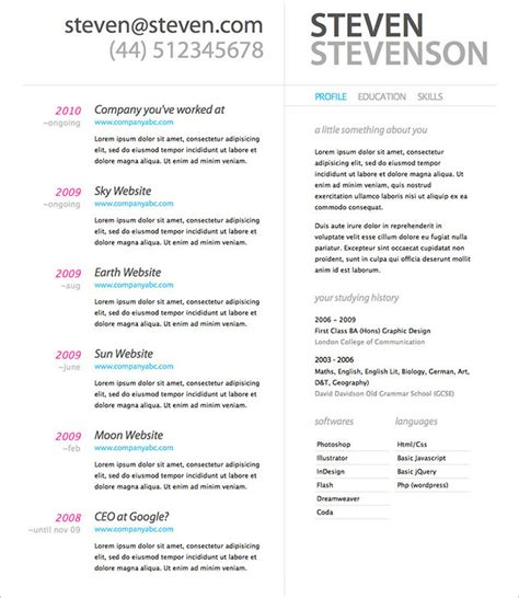 resume design template psd   samples examples