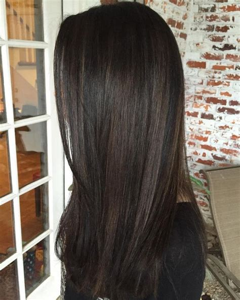 Brown Black Hair Colors by 10 Black Hair With Chestnut Highlights Styleoholic