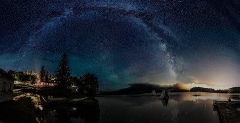 Astrophotography Diaries Rookie First Milky Way Panorama