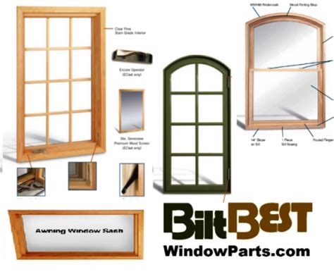 biltbest replacement sash kit casement awning  pro  clad pro clad  clad clad sash