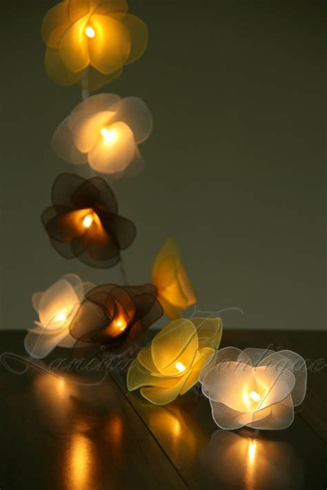 20 bumblebee flower led string lights