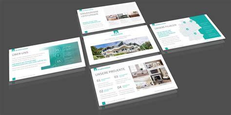 elegantes corporate design fuer immobilienfirmen und