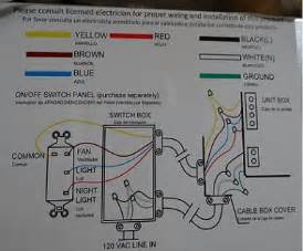 Ceiling Fan Internal Wiring Schematic Internal Wiring