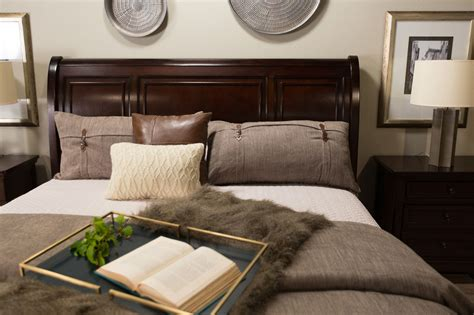 ashley furniture sleigh bed with storage mathis brothers