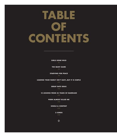 what is a table of contents 64 best design table of contents images on pinterest