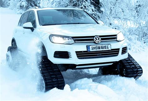 volkswagen winter volkswagen snowareg the best winter vehicle