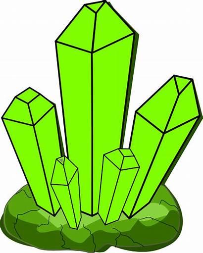 Crystal Clipart Clip Cartoon Quartz Graphics Cristal