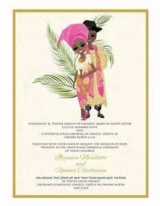 nigerian traditional wedding invitation card With t nagar wedding invitation cards