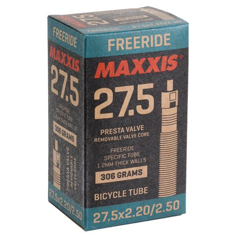 Maxxis Freeride / DH Light MTB Tube - 27.5x2.2-2.5 inches ...