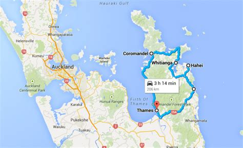 New Zealand's Great Driving Roads - The Coromandel