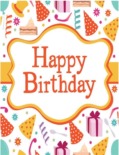 birthday card templates  word excel