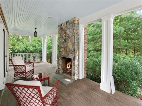 what is an enclosed front porch deck block for enclosed