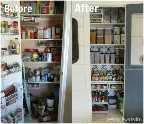 kitchen storage and organization ideas the less mess project pantry reveal domestic imperfection 8607
