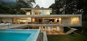 Rio At Home : luxurious modern house in rio de janeiro brazil by studio ~ Lateststills.com Haus und Dekorationen