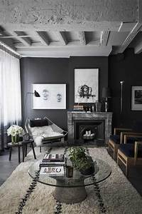 best 25 masculine living rooms ideas on pinterest grey With best brand of paint for kitchen cabinets with wall art for a bachelor pad
