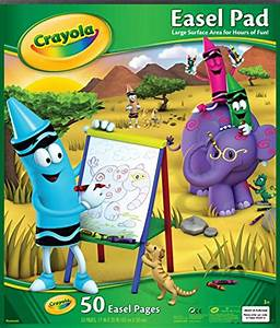 crayola easel pad 071662993474 toolfanaticcom With step2 easel for two with bonus magnetic letters numbers