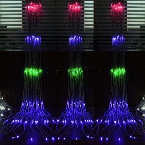 curtain outdoor christmas lights on sale 320led outdoor led string light for christmas