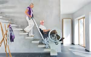 Chair Lifts For Stairways by Stair Climber Scalamobil Wheelchair Climbing