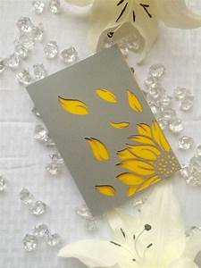 17 best ideas about grey wedding invitations on pinterest With yellow laser cut wedding invitations