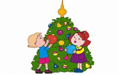 Clipart Decorate Christmas Decorating Decorations Clip Holiday