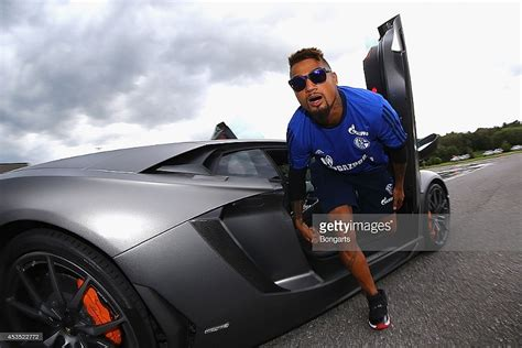 kevin prince boateng  sulley muntaris comfy car collection