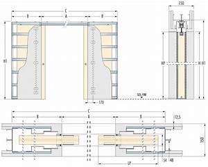 Porte A Galandage Double : porte galandage dimension ~ Premium-room.com Idées de Décoration
