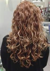 Long Layered Haircuts for Curly Hair Back