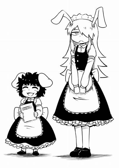 Well Scarlet Maids Lady Why Kaguya Them