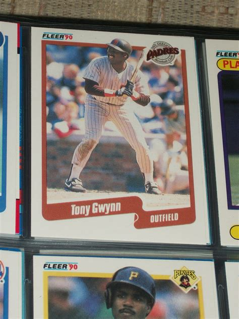 Maybe you would like to learn more about one of these? Tony Gwynn 90 Fleer baseball card