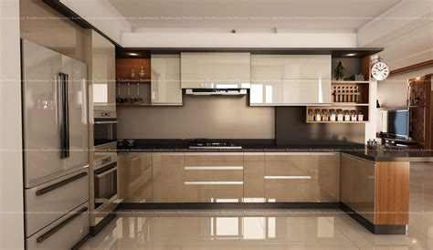 Kitchen Interior Decorating by Fabmodula Interior Designers Bangalore Best Interior Design
