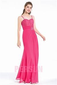 Robe Pour Temoin De Mariage : chic robe rose fuchsia t moin mariage bustier c ur ~ Melissatoandfro.com Idées de Décoration