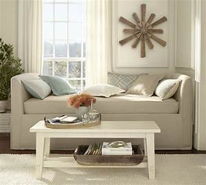 lewis slipcovered daybed pottery barn With day beds pottery barn