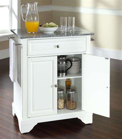 granite topped kitchen island buy lafayette solid granite top portable kitchen island w