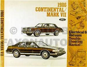 1986 Lincoln Continental  U0026 Mark Vii Electrical