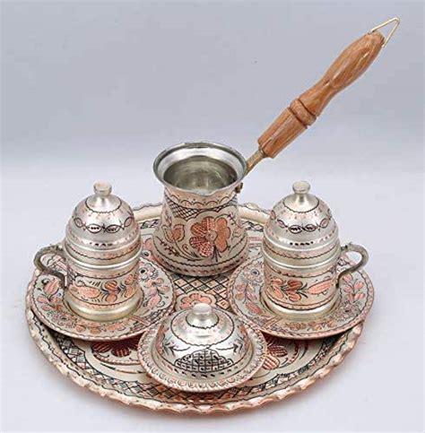 You'll receive email and feed alerts when new items arrive. Amazon.com: Traditional Design Handmade Engraved Copper Turkish Armenian Arabic Greek Coffee Set ...