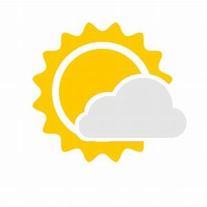 Mostly Cloudy Icon - Android Weather Icons - SoftIcons.com