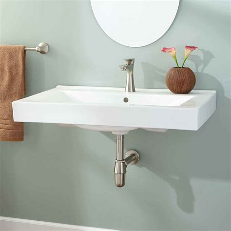 How To Install Wall Mounted Sink Midcityeast