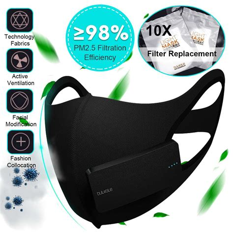 smart electric dust mask air purifying  anti dust
