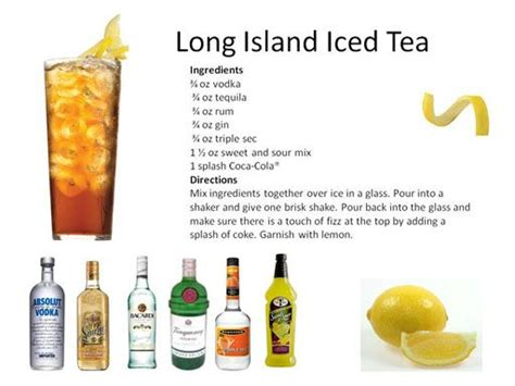 island iced tea recipes 17 best ideas about popular mixed drinks on pinterest alcohol cocktail recipes and popular