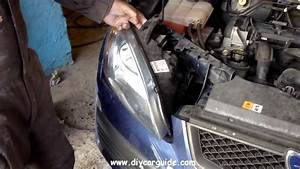 Ford Focus Headlight Removal  2nd Generation  2005-2011 Models