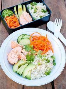 Meal Prep Einfrieren : low carb meal prep bowl mit lachs avocado und blumenkohreis ~ Somuchworld.com Haus und Dekorationen
