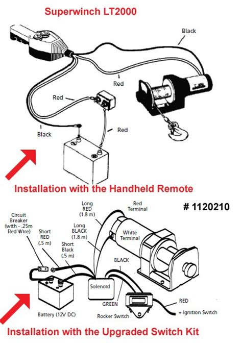 Installation The Remote For Superwinch