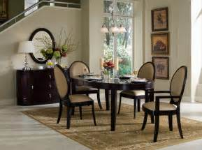 dining room formal tables and chairs hanging pendant