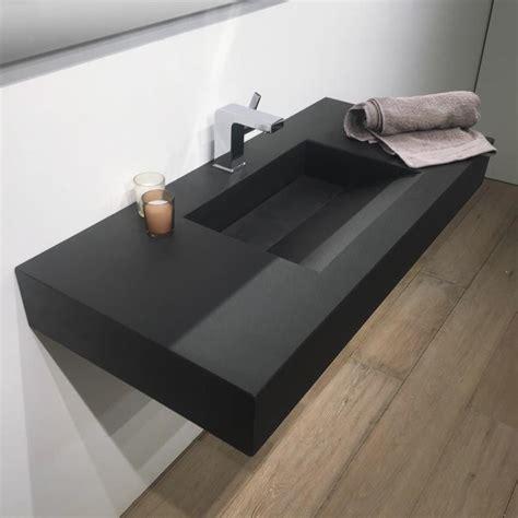 plan vasque salle de bain suspendu 101x46 cm pizarra