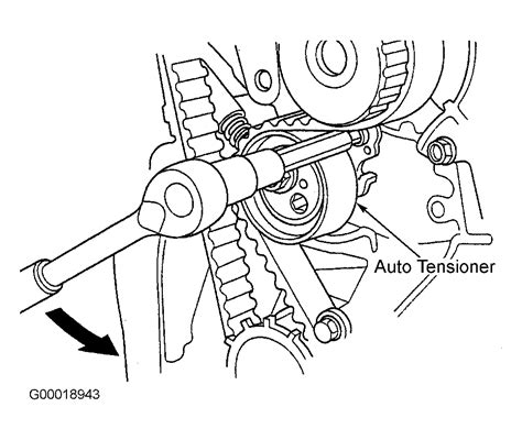 Honda Civic Serpentine Belt Routing Timing