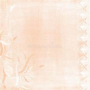 Vintage Swirl Lace PEach Bordered Paper Background Stock ...